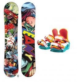 513fe6ac87 Beany Heropunch dětský snowboard + vázání Beany Junior