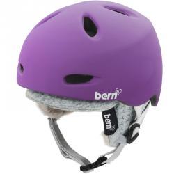 9cab5826a Bern Berkeley matte purple dámská snowboardová helma