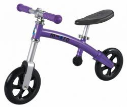 Micro G-Bike+ light purple dětské odrážedlo