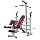 Fitness stroje a lavice