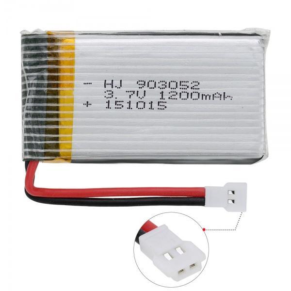 1200mAh 3,7V Akumulátor pro X5Csw, X5Cs, x5sw nebo x5sc