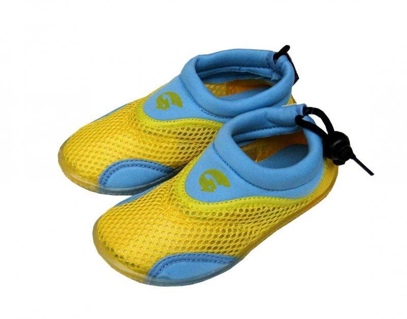 Alba Dětské boty žlutomodré - EU 25