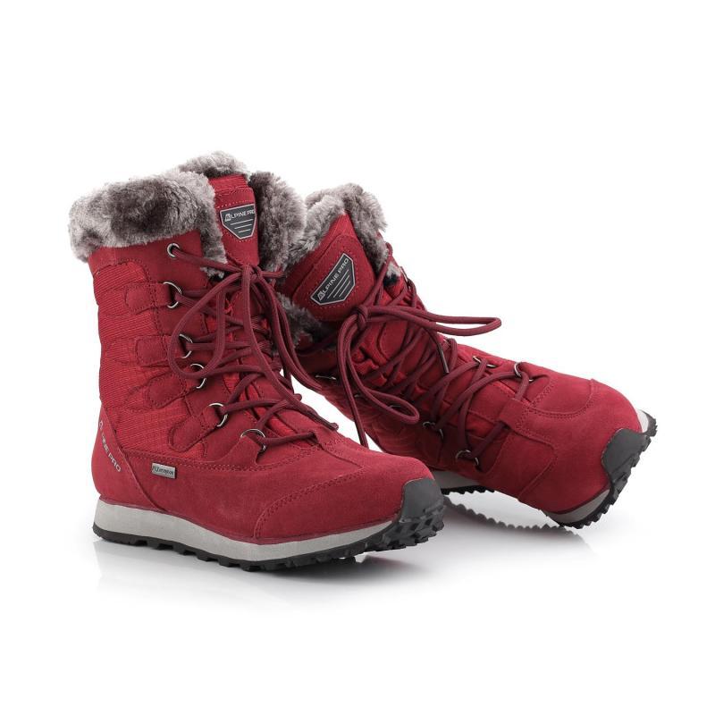 Alpine Pro ALLYSON červená dámská zimní obuv  ae86ed5493