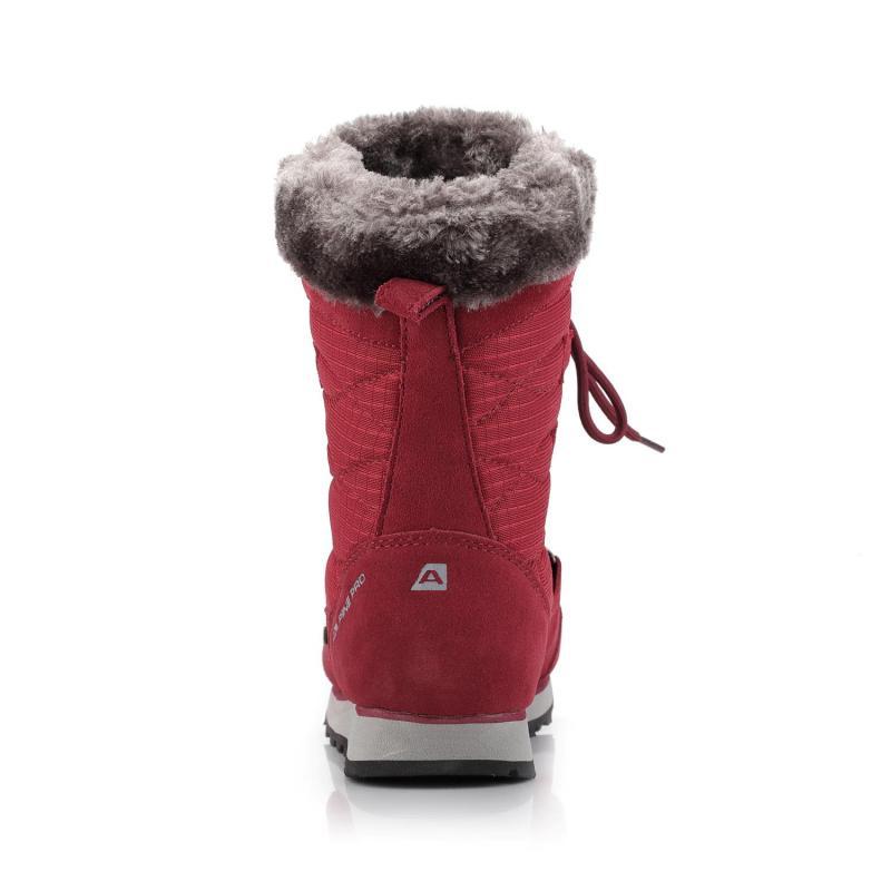 ... Alpine Pro ALLYSON červená dámská zimní obuv ... 2fe62224bb