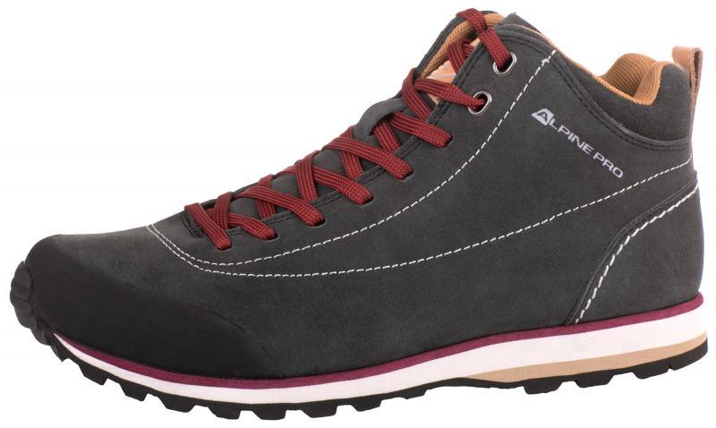 24213f216072 Alpine Pro ASHAR tmavě šedá outdoor obuv + osvěžovač obuvi