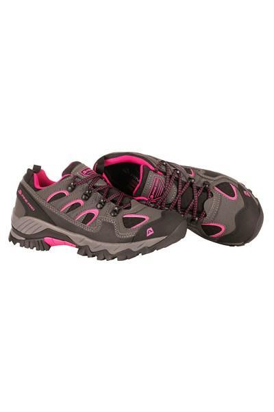0570039a3d Zvětšit · Alpine Pro DINESCH šedo růžová dámská outdoor obuv + osvěžovač  obuvi ...