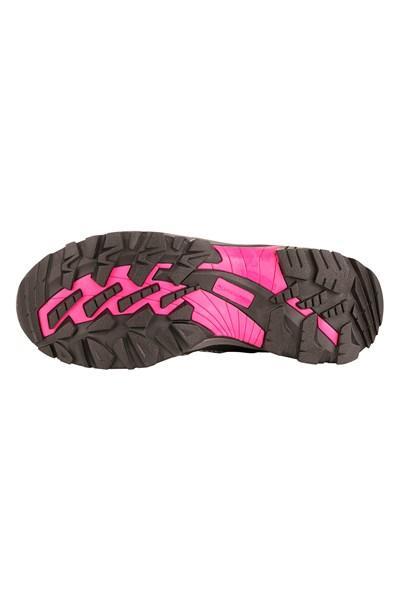6591bfa434 ... Alpine Pro DINESCH šedo růžová dámská outdoor obuv + osvěžovač obuvi ...