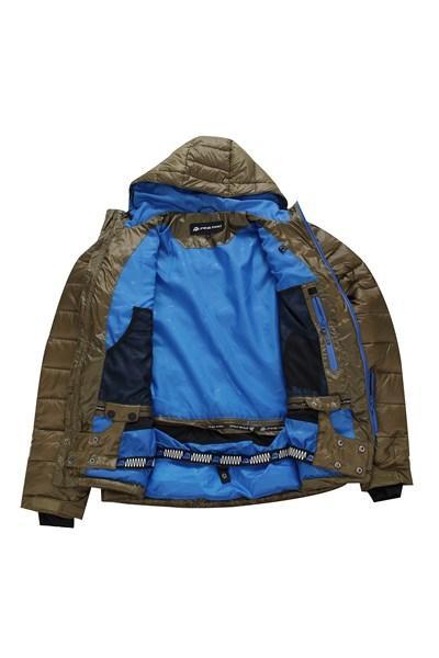 49e414deff5 ... Alpine Pro ISKUT hnědá zimní bunda ...