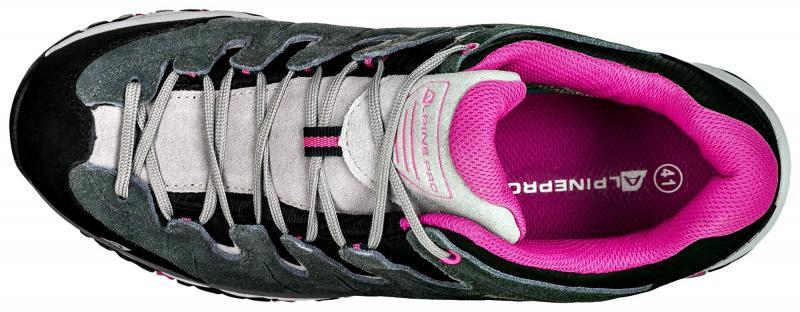 939820bf33 ... Alpine Pro MALVIN šedo růžová dámská outdoor obuv ...