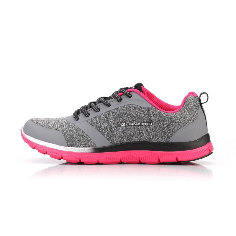 4076403d19 Alpine Pro NIA šedo růžové dámské sportovní boty + osvěžovač obuvi ...