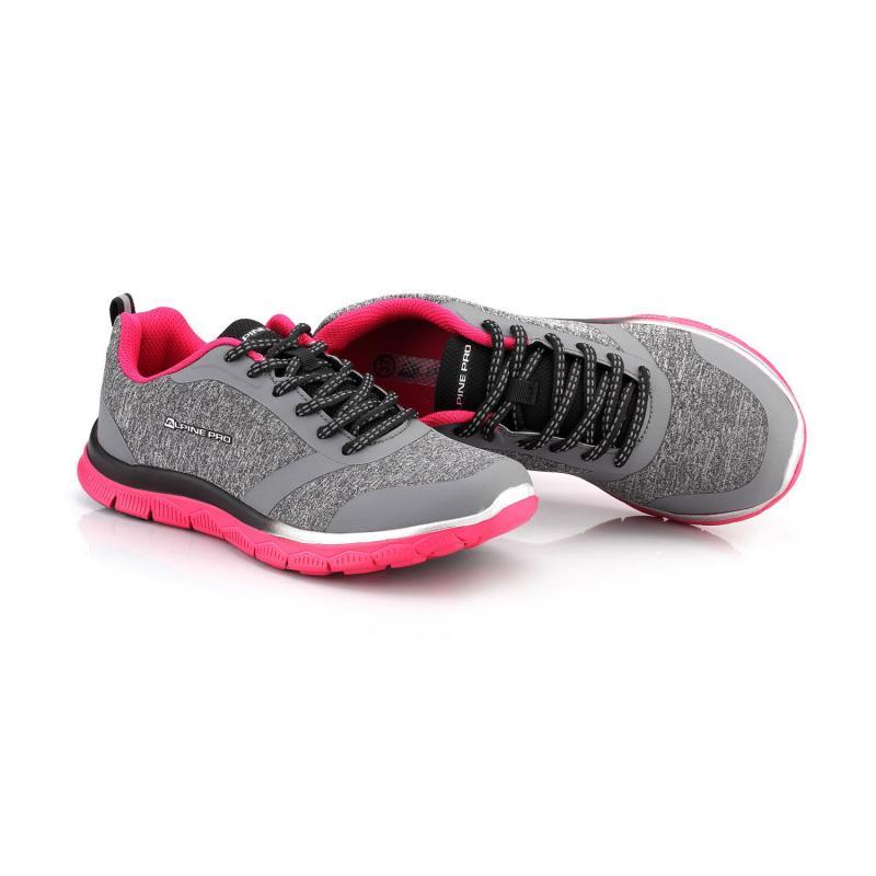 84db52d340 ... Alpine Pro NIA šedo růžové dámské sportovní boty + osvěžovač obuvi ...