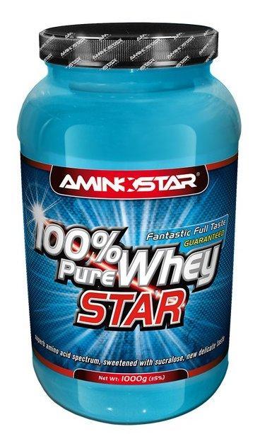 Aminostar 100% Pure Whey star 1000 g - vanilka - skořice