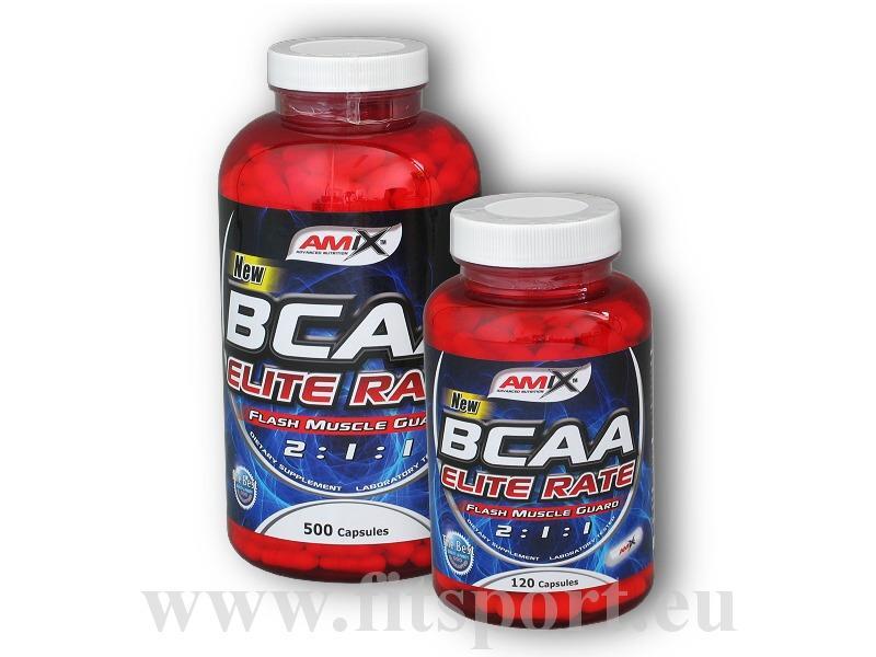 Amix BCAA Elite Rate 500 + 120 kapslí ZDARMA