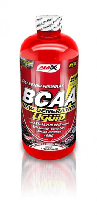 Amix BCAA New Generation Liquid 500ml - fruit punch