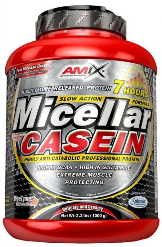 Amix Micellar Casein 1000 g - lesní ovoce