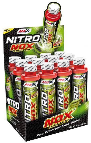 Amix NitroNox Shooter 140 ml - růžová limonáda