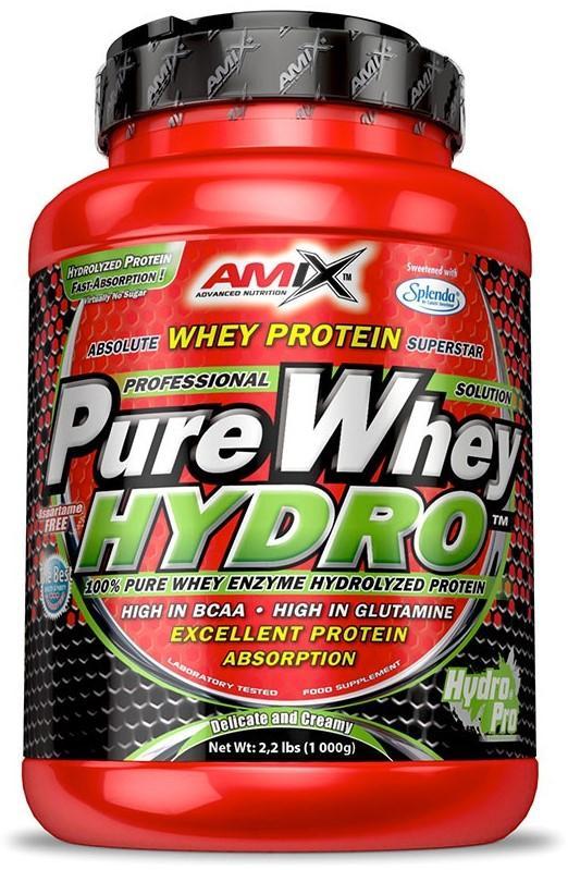 Amix Whey Pure Hydro 1000 g - jablko - skořice