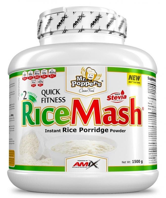 Amix RiceMash 1500g - dvojitá čokoláda
