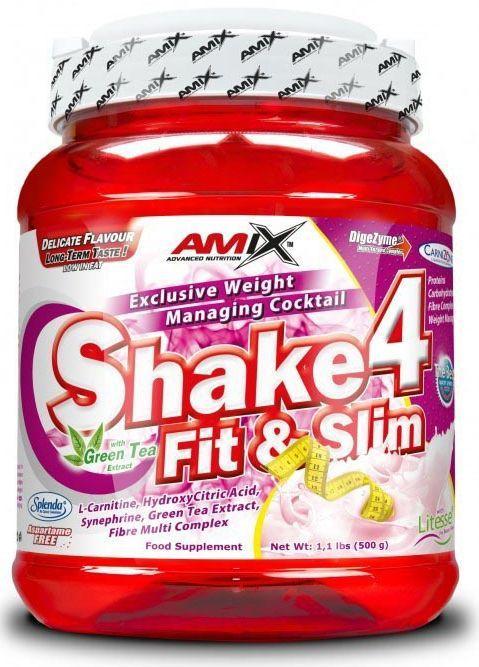 Amix Shake 4 Fit&Slim 500 g - čokoláda
