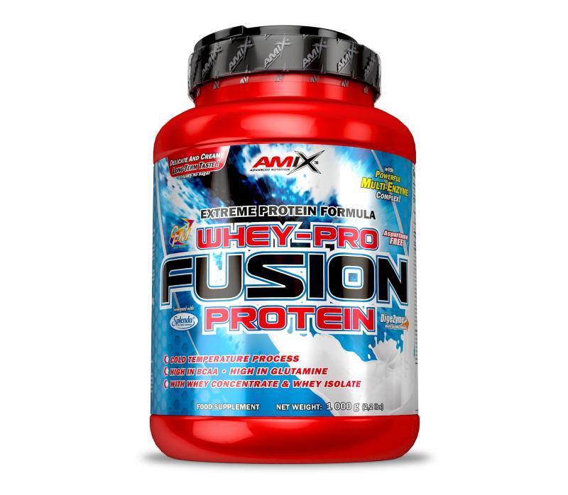 Amix Whey Pure Fusion Protein 1000 g - jablko - skořice