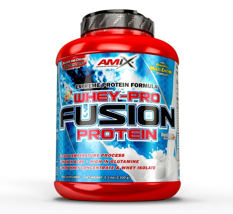 Amix Whey Pure Fusion Protein 2300 g - banán