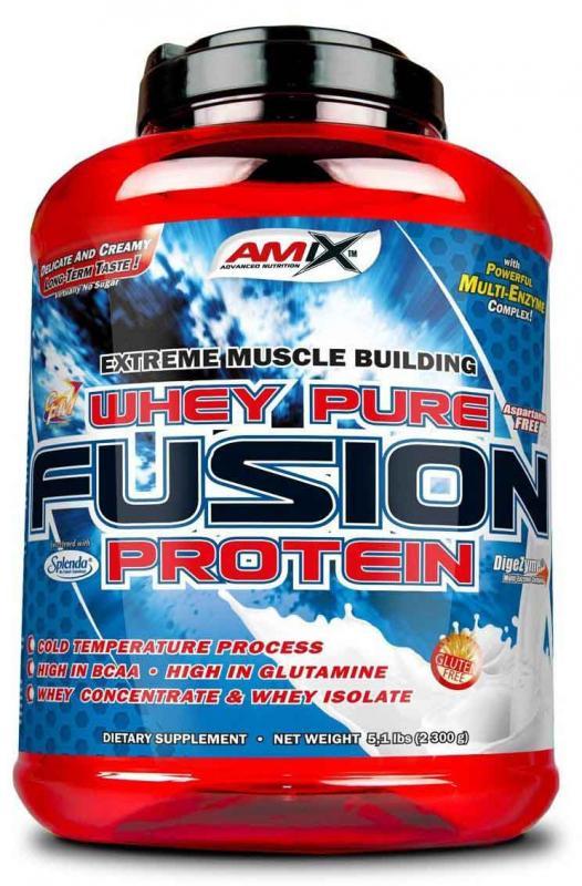 Amix Whey Pure Fusion protein 4000 g - bílá čokoláda