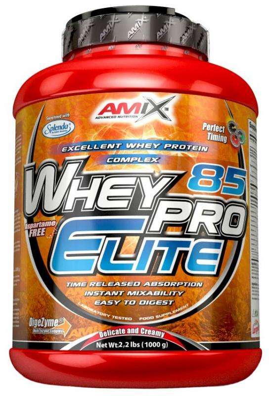 Amix Whey Pro Elite 85% 1000 g - banán