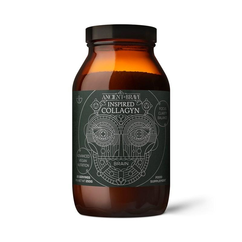 Ancient+Brave Inspired Brain Collagyn (Směs pro tvorbu kolagenu - Mozek) 250 g