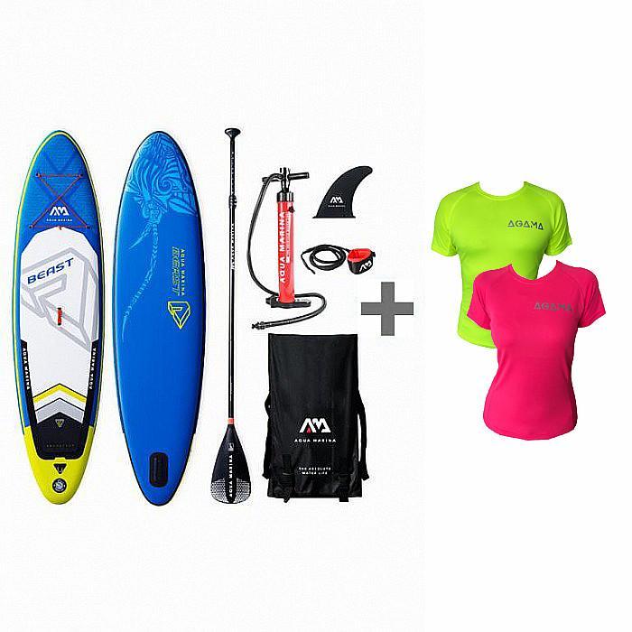 Aqua Marina BEAST 2019 paddleboard set + pádlo