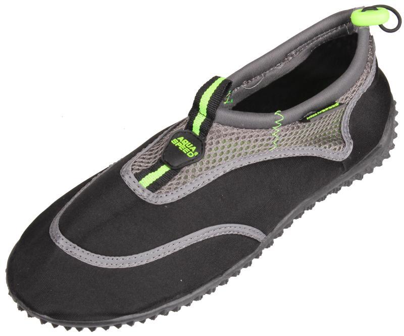 Aqua Speed Jadran 5 neoprénové boty - 40 - černá-šedá
