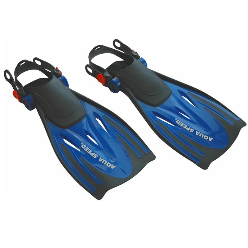 Aqua Speed Wombat ploutve - EU 27-31 - modrá