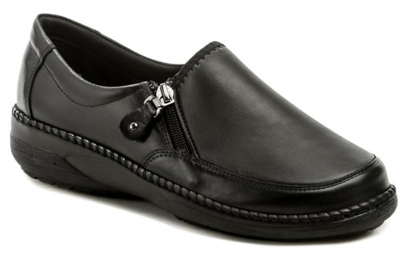 Axel AXCW135 černé dámské polobotky boty šíře H - EU 37