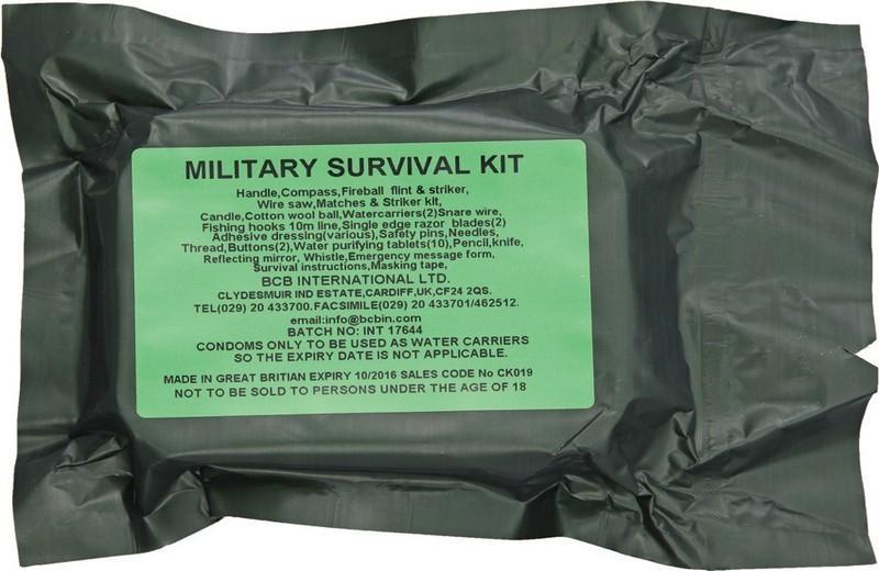 BCB Adventure krabička poslední záchrany Military