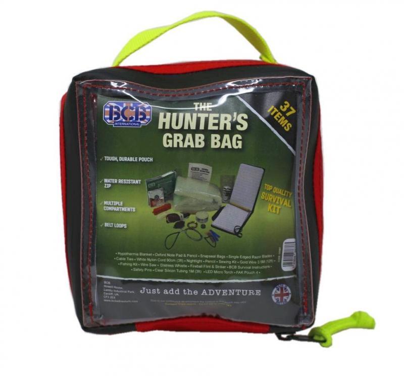 BCB Adventure sada pro přežití Hunters Grab Bag