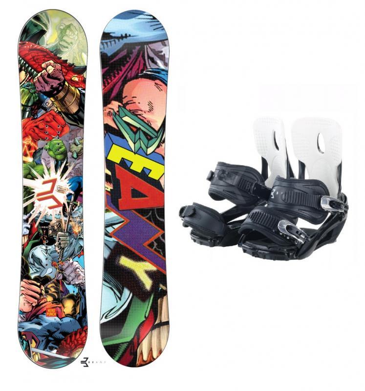 Beany Heropunch snowboard + vázání Beany Lucky - 139 + M (EU 40-44)