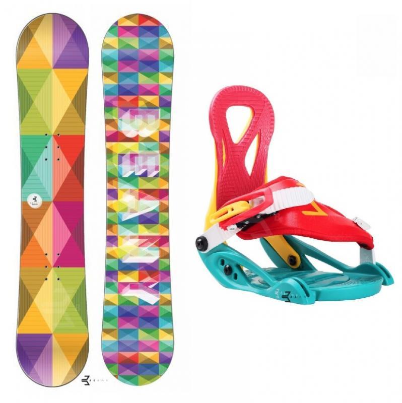 Beany Spectre dětský snowboard + vázání Beany Kid - 110 cm + XS (EU 26-31)