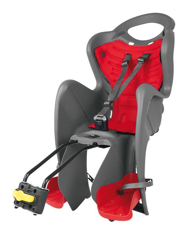 Bellelli MR FOX Standard zadní šedá-červená cyklosedačka