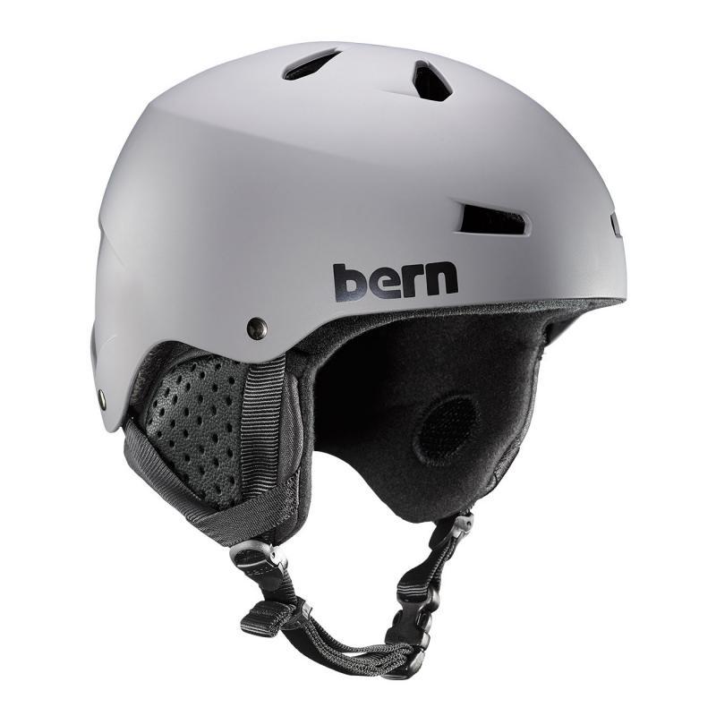 Bern Macon 19/20 matte grey snb helma - L (59-62 cm)