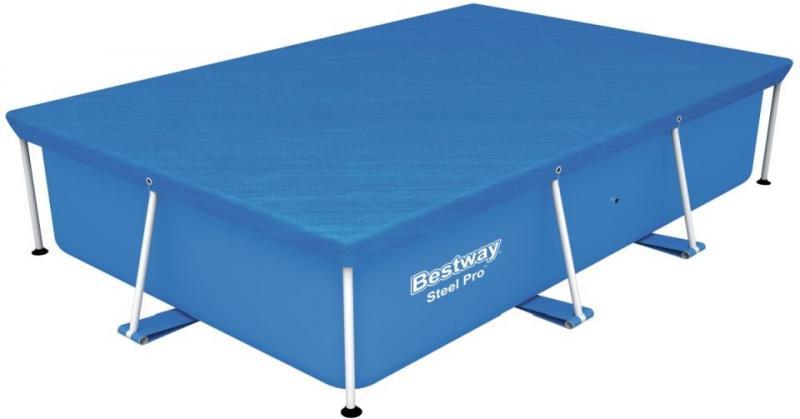 BESTWAY 58105 krycí plachta na bazén s konstrukcí 2,59x1,7x0,61 m
