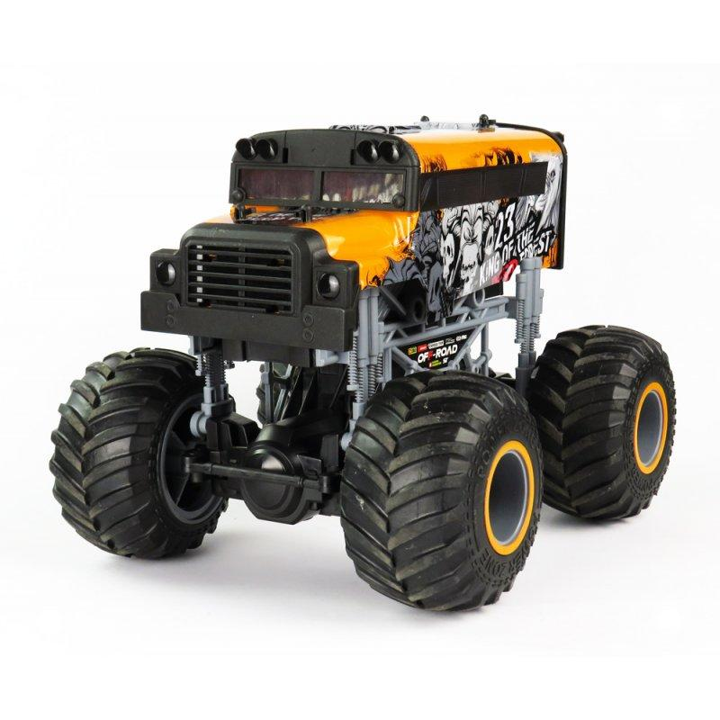 Big Wheel Cars 1:16 King, 2,4 Ghz, 2WD, RTR, oranžová