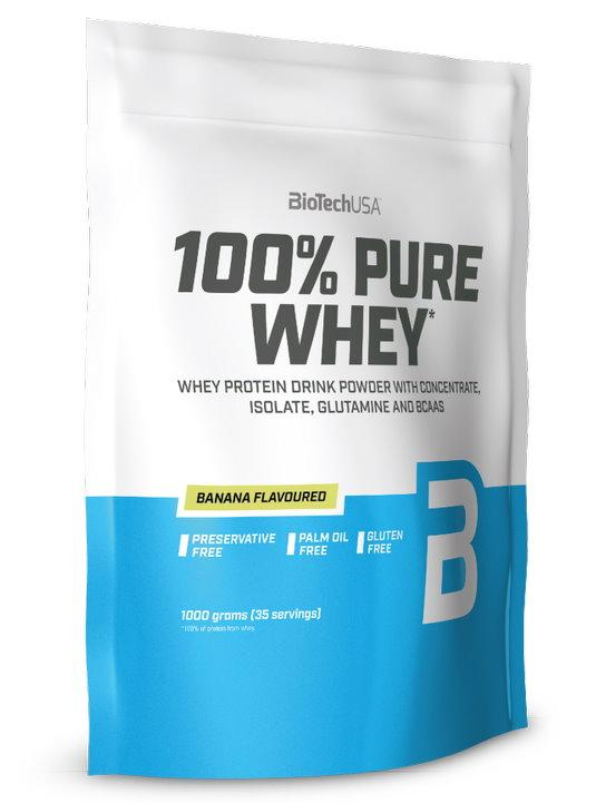 BioTech 100% Pure Whey 1000 g - vanilka