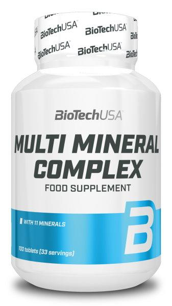 BioTech Multimineral complex 100 tablet