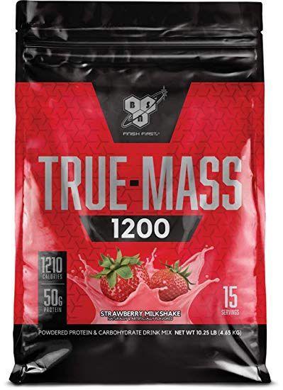 BSN True-Mass 1200 4650 g - vanilka