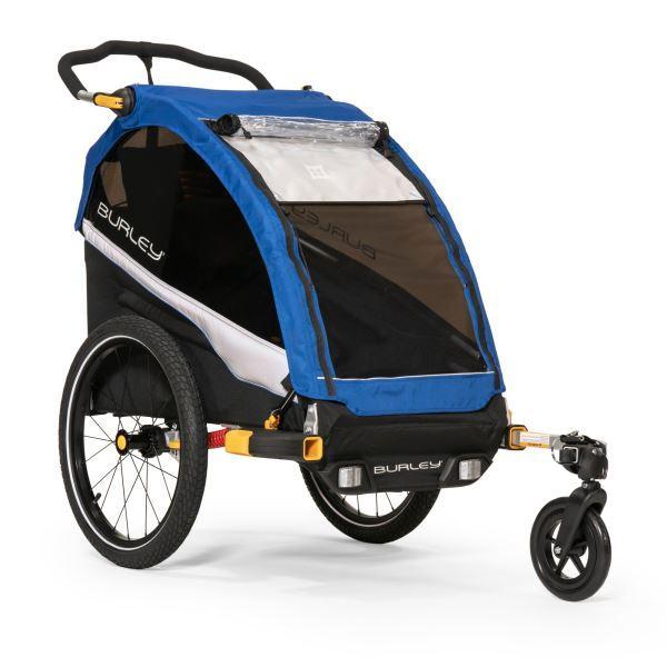 BURLEY D´Lite Single jednomístný odpružený dětský vozík + sleva 600,- na příslušenství