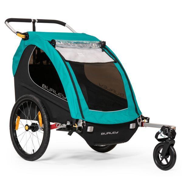 BURLEY Encore X dvoumístný odpružený dětský vozík + sleva 600,- na příslušenství