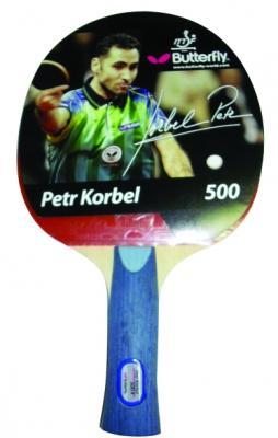 Butterfly Petr Korbel 500 NEW pálka na stolní tenis