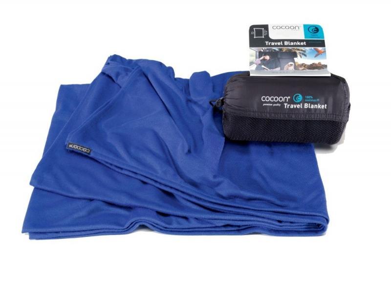 Cocoon cestovní deka Coolmax royal blue
