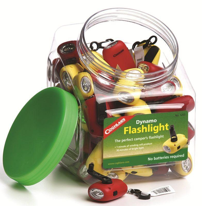 Coghlans přívěšek svítilna Dynamo Flashlight