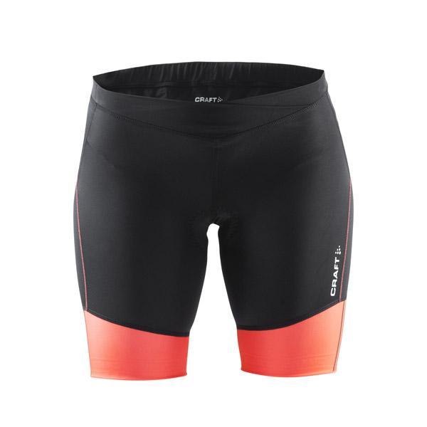 0f4d9c43a63e Craft Velo Shorts W 1903984 černé s oranžovou dámské cyklistické kraťasy