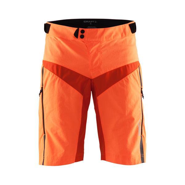 ac3a189ac4b Craft X-over 1904057 oranžové cyklistické šortky